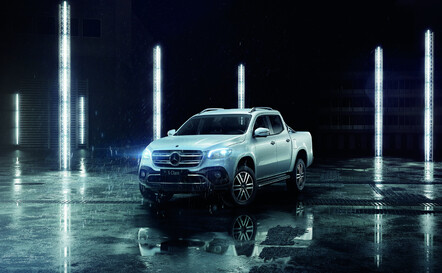 Mercedes-benz x-class ute - Redirects to Mercedes-Benz Van website